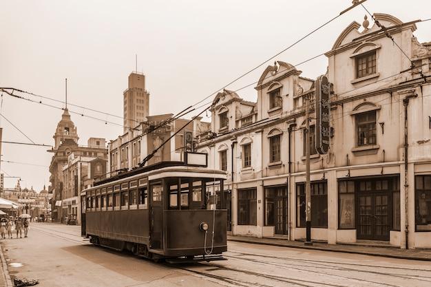 Schöne alte stadtansicht