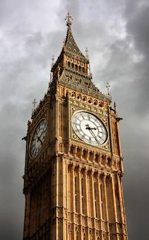 Schöne ansicht von big ben, london