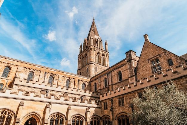 Schöne architektur christ church kathedrale oxford, uk