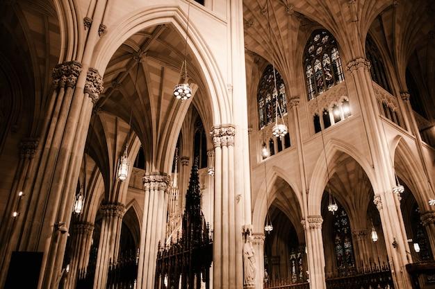 Schöne architektur einer kirche