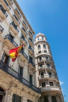 Schöne architektur von barcelona, spanien