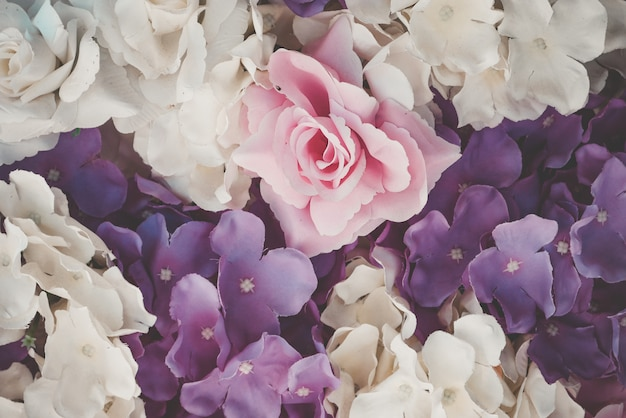 Schöne blumenstraußblume für hintergrund