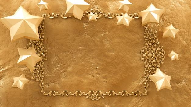 Schöne goldene textur und weihnachtsspielzeug, bälle.