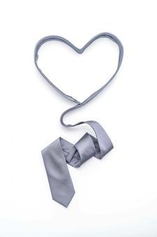 Schöne graue krawatte