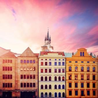 Schöne häuser tschechische republik