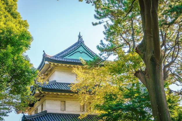 Schöne imperial palace in tokio, japan