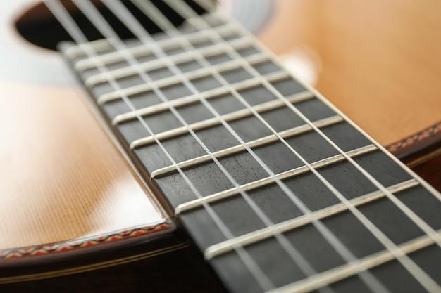 Schöne klassische gitarre