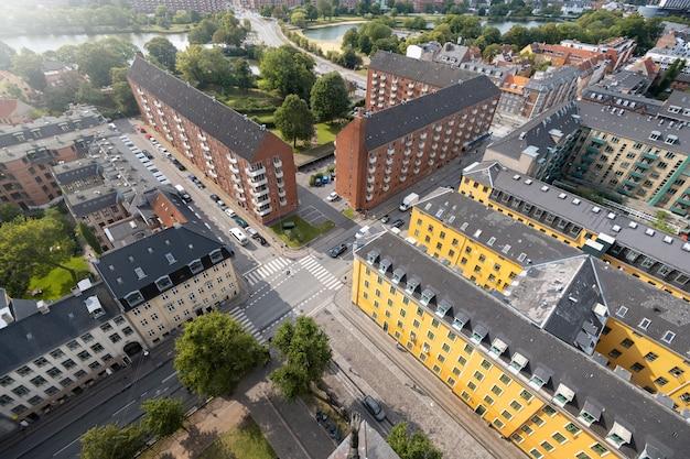 Schöne kopenhagen-stadt in dänemark