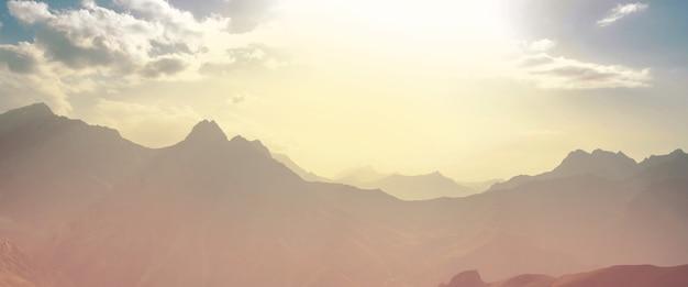 Schöne landschaft des fanns-gebirges, tadschikistan?