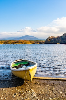 Schöne landschaft von berg fuji