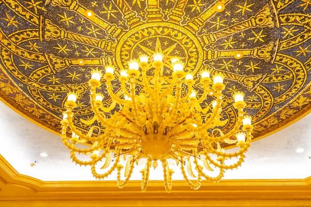 Schöne luxuriöse elektrische deckenleuchte-lampendekoration