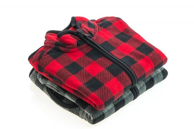 Schöne männer mode fleece jacke