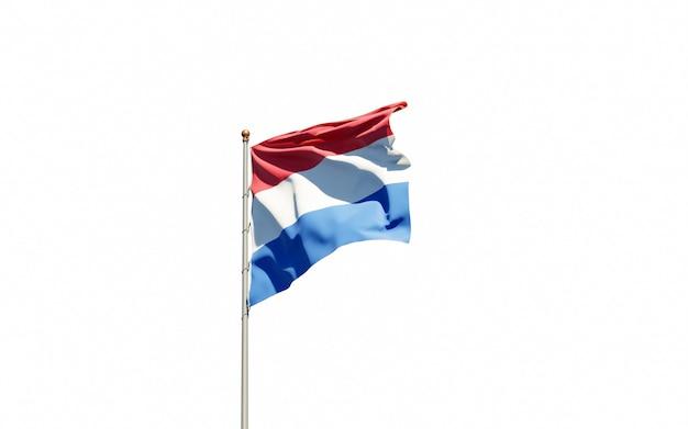 Schöne nationalstaatsflagge der niederlande