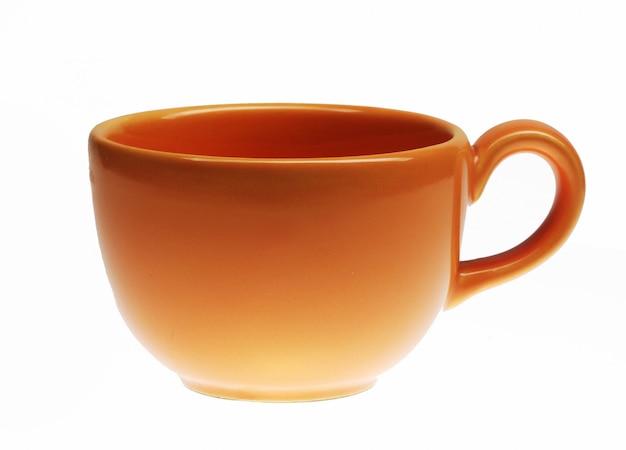 Schöne orange tasse