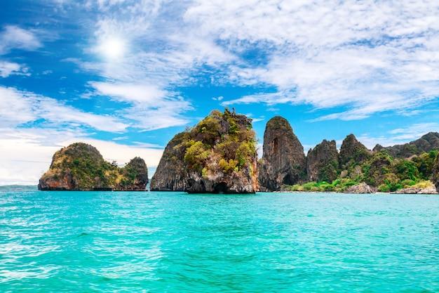 Schöne ozeanlandschaft.