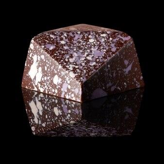 Schöne süße schokolade isoliert