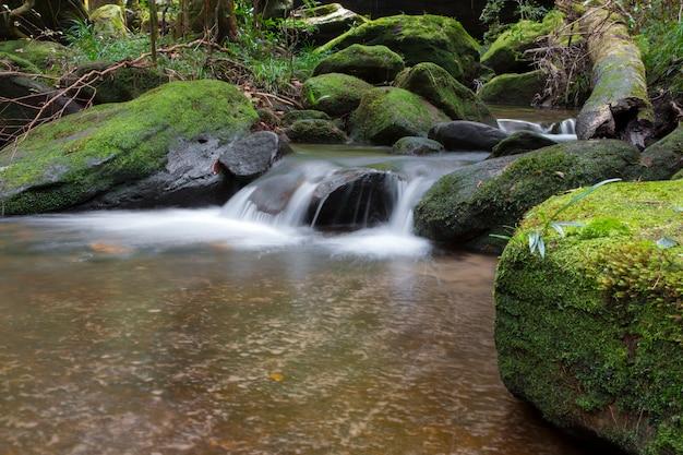 Schöne wasserfalllandschaft.
