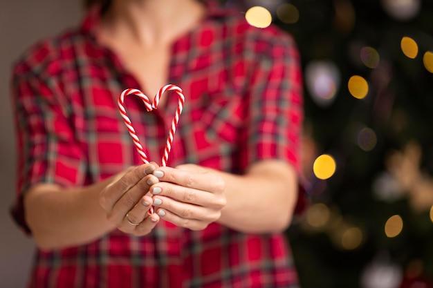 Schöne weihnachten zu hause konzept