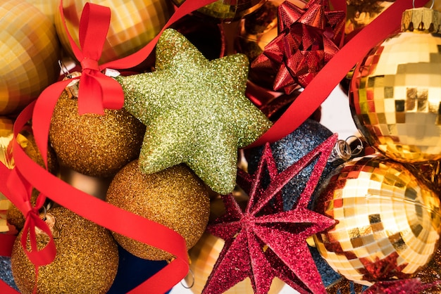 Schöne weihnachtsdekorationen