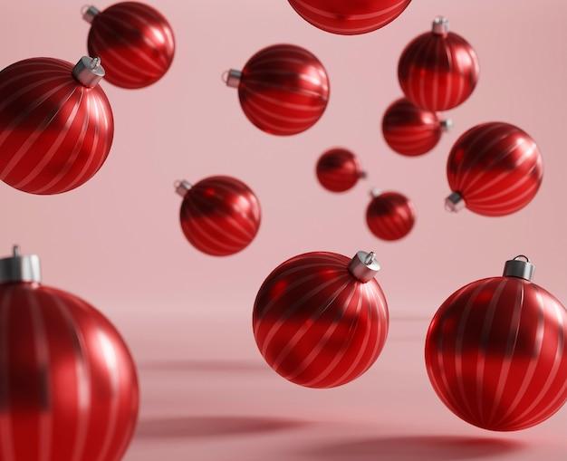 Schöne weihnachtshintergrundanordnung