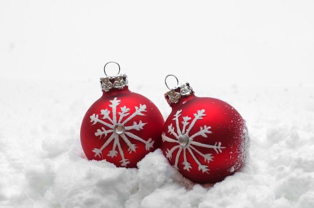 Schöne weihnachtskugeln