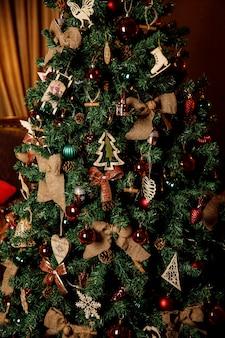 Schöne weihnachtsschmuck