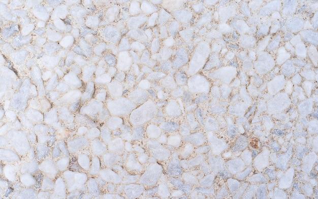 Schöne weiße kleine steinmauer für hintergrund, steinmauer muster für design in hoher auflösung