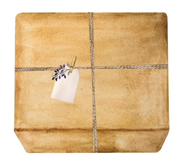 Schöne zeichnung von kisten mit geschenken