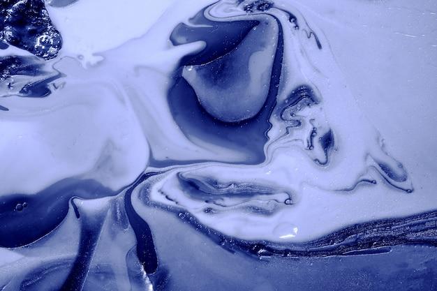 Schöner abstrakter hintergrund marineblau dunkler farbstil enthält die strudel