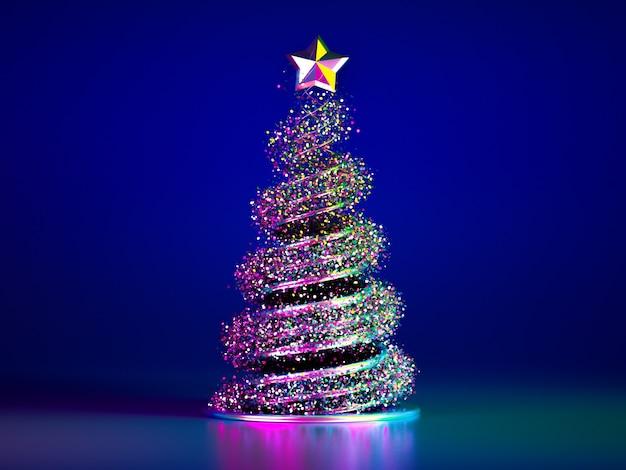 Schöner luxus-weihnachtsfeiertagshintergrund. Premium Fotos