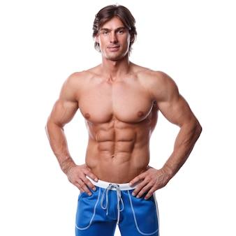 Muskolöser Mann
