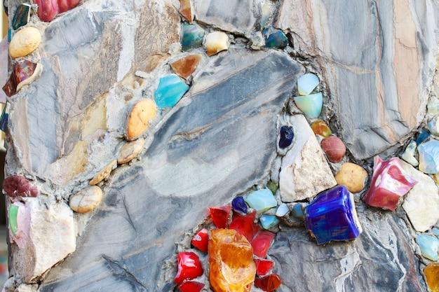 Schöner steinmauerhintergrund