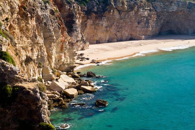 Schöner strand in sagres