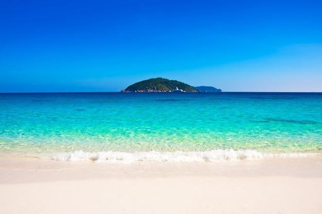 Schöner strand similan islands.thailand, phuket.