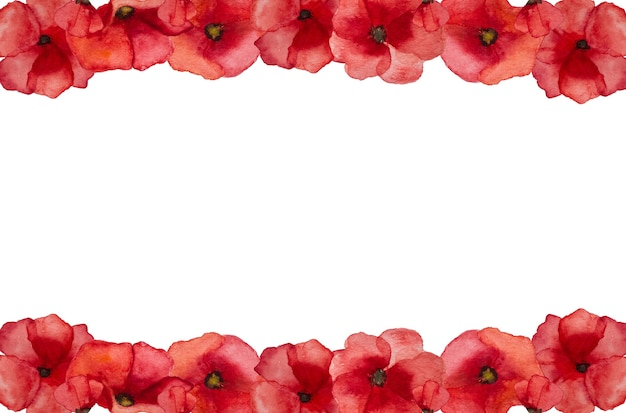 Schönes bild von mohnblumen. glücklicher gedenktag. nahaufnahme, ansicht von oben. nationalfeiertag konzept. herzlichen glückwunsch an familie, verwandte, freunde und kollegen