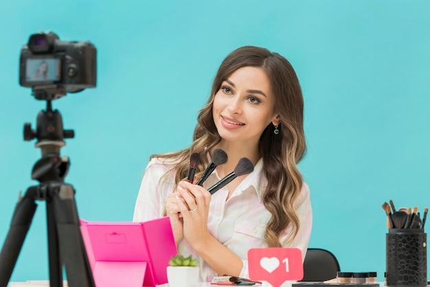 Schönes blogger-make-up-video