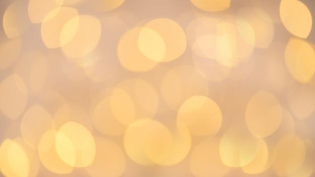 Schönes festliches von unscharfen lichtern mit bokeh effekt