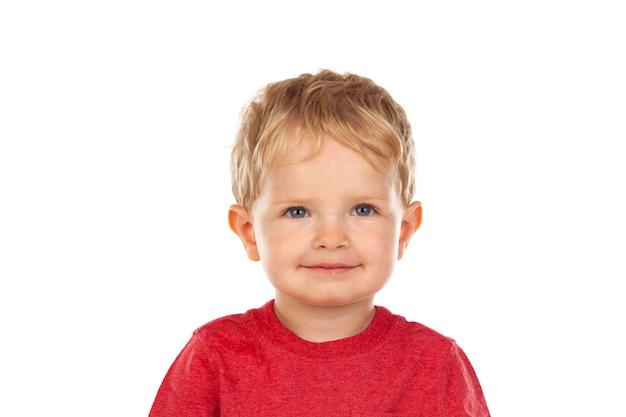 Schönes kleines kind zwei jahre alt, lachen