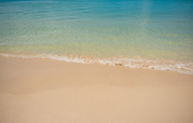 Schönes meer in thailand
