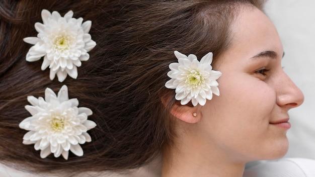 Schönes und sauberes haar