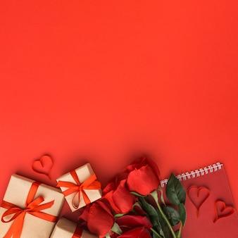 Schönes valentinstagskonzept