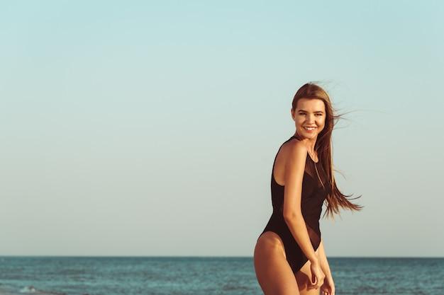 Schönheit am strand