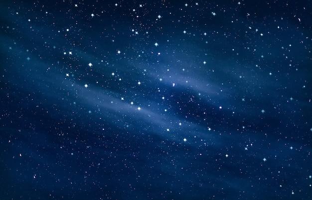 Schönheit des nachthimmels