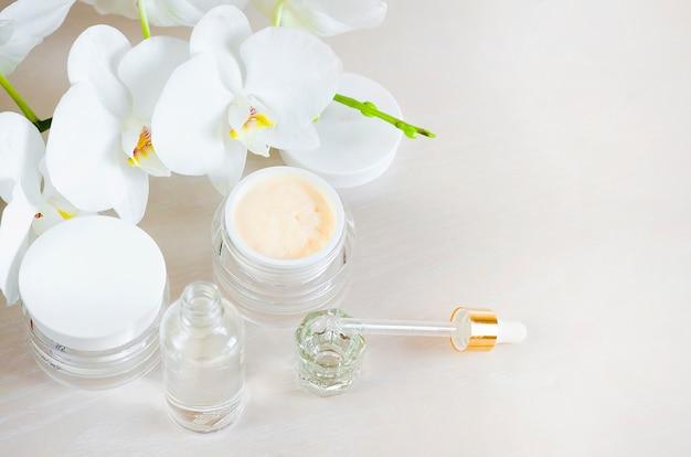 Schönheit . natürliches kosmetisches produkt.