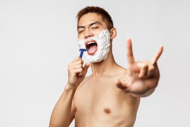 Schönheits-, menschen- und hygienekonzept.