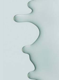 Schönheits-texturhintergrund der kosmetischen peeling-gelmaske