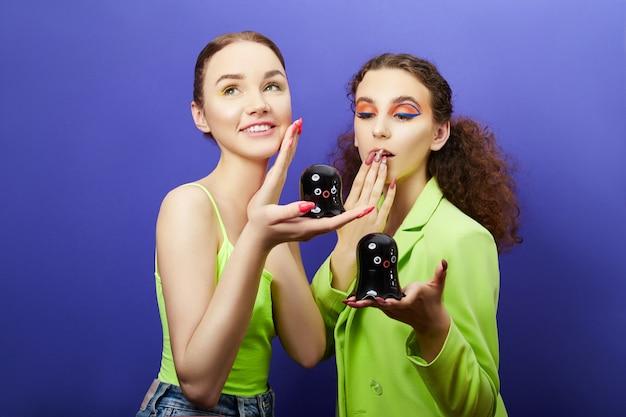 Schönheitskosmetik für die gesichts- und lippenpflege