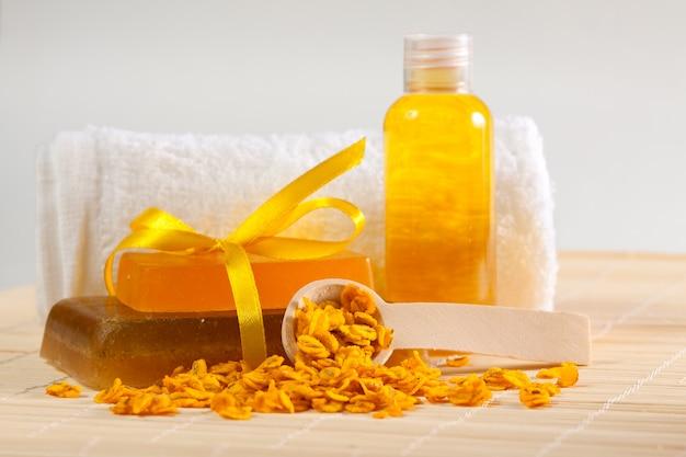 Schönheitsprodukte zum baden
