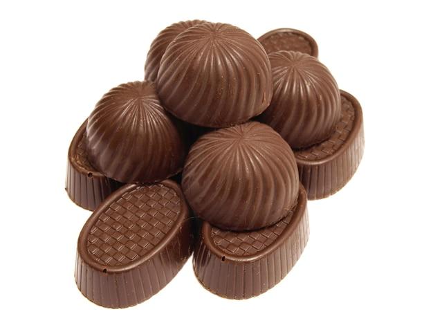 Schokolade isoliert