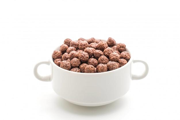 Schokolade müslischale